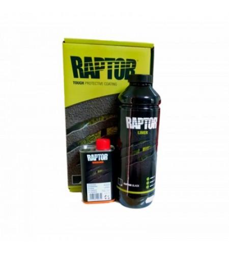 RLВ/S1 Защитное покрытие повышенной прочности RAPTOR черное 750 мл +250 мл комплект