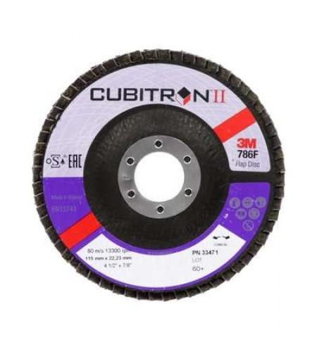 33471Лепестковый круг, Cubitron™ II T29, 115 мм x 22 мм, 60+
