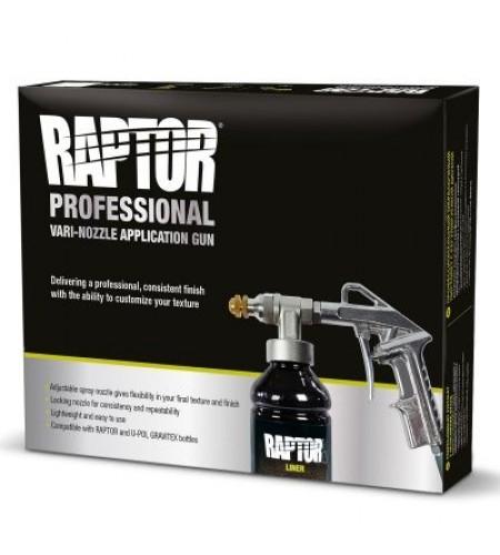 GUN/VN Пистолет профессиональный для нанесения RAPTOR с регулируемой дюзой