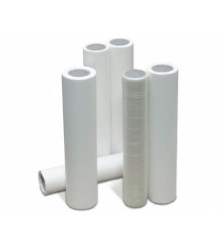 318186 Маскировочная пленка, поглащающая краску HDPE 9 мкр, белая, 6м х 100м