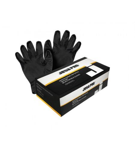 JSN809/L  Перчатки  нитриловые JETAPRO черные, размер  L