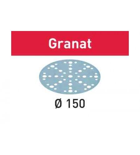 575174 Мат.шлиф. Granat P800, компл. из 50 шт.  STF D150/48 P800 GR/50