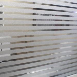Санд Бласт пленка с эффектом пескоструйной обработки, белая, 5лет 1,22м х 50м