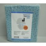 5850471 Салфетки нетканые POLYPRO NEW повышенной прочности для обезжиривания из 100% полипропилена, синие 32х38см, пакет 35 шт.