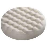 202014 Губка тонкая с вафельной поверхностью, Белый