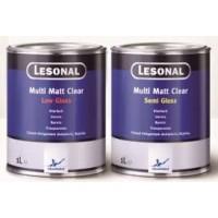 377556 Матовый лак Lesonal Multi Matt Clear Low Gloss 1л
