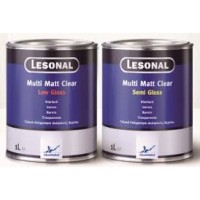 377559 Матовый лак Lesonal Multi Matt Clear Semi Gloss 1л