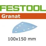497140 Мат.шлиф. Granat P 180, компл. из 100 шт.   STF DELTA/7 P 180 GR (100шт)