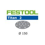 496631 Мат.шлиф. Titan 2 P 80, компл. из 50 шт. STF D150/16 P 80 TI2/50