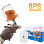 100375 Набор BPS (стаканы 600 мл-50 шт, крышки 190 мкм-50 шт, колпачки-25 шт, жесткий стакан - 1) Испания