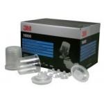 16000 Набор (стаканы-0,6л -50шт. крышки с фильтром 200мкм - 50, колпачки )