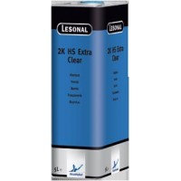 376894 Прозрачный лак Lesonal 2K HS Extra Clear /1л