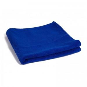 Салфетка полировальная многоразовая из микрофибры Mikrofiber Blue, темно-синий, 40х40см