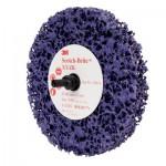 05814 Зачистной круг Scotch-Brite™ Roloc™ + Clean and Strip , фиолетовый, 100 мм х 13 мм