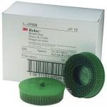 07526 Зачистной круг Scotch-Brite™ Roloc™ Bristle RD-ZB, D75мм, грубый (зеленый)