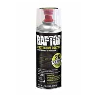 RLB/AL Защитное двухкомпонентное покрытие повышенной прочности RAPTOR Черное АЭРОЗОЛЬ 400мл